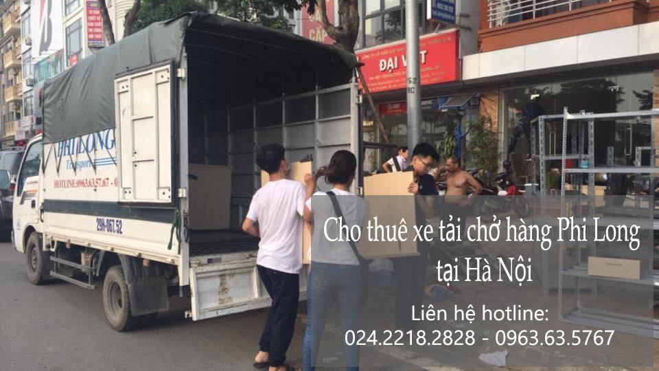 Dịch vụ xe tải chở hàng giá rẻ tại phố Yên Bình