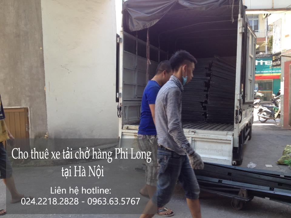 Dịch vụ xe tải chuyển nhà tại phố Hương Viên