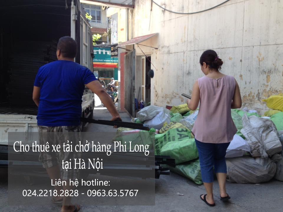 Dịch vụ xe tải chở hàng tại phố Hoàng Mai