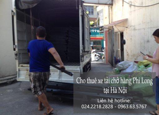 Dịch vụ xe tải vận chuyển tại phố Tố Hữu