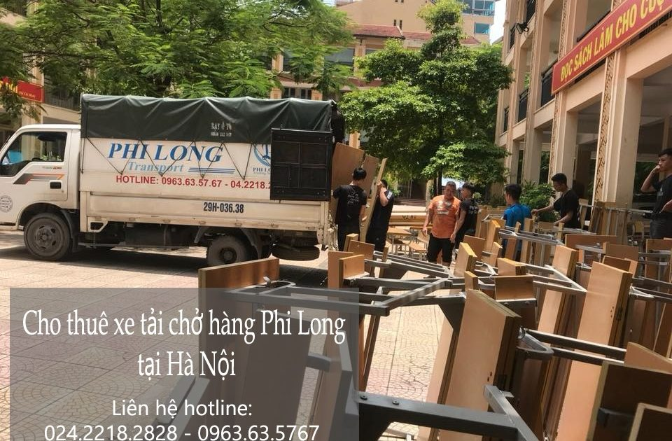 Dịch vụ xe tải vận chuyển tại phố Tân Ấp