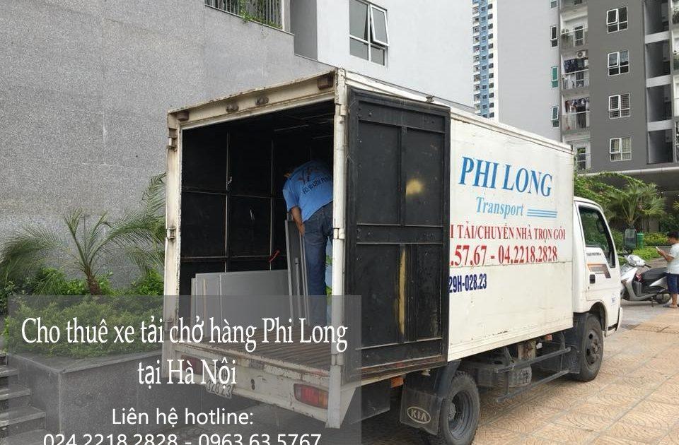 Dịch vụ thuê xe tải vận chuyển tại phố Bạch Thái Bưởi