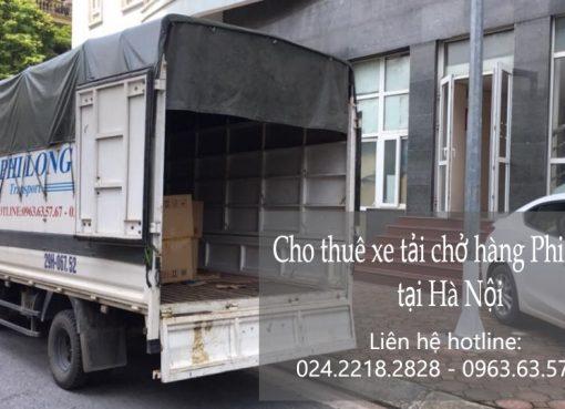 Dịch vụ xe tải vận chuyển tại phố Thành Thái