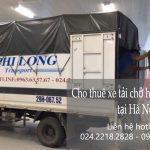 Dịch vụ xe tải giá rẻ chở hàng tại phố Lương Văn Can