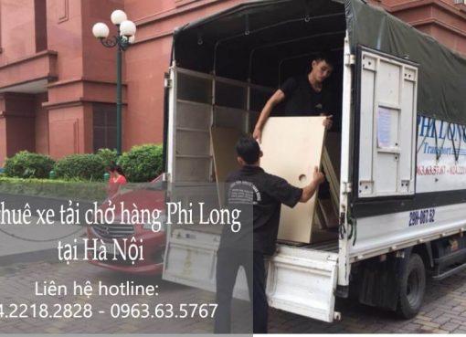 Dịch vụ xe tải chuyển nhà tại phố Hoàng Cầu