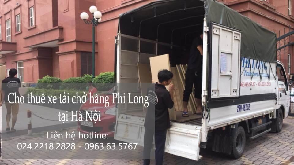 Dịch vụ xe tải vận chuyển tại phố Châu Long