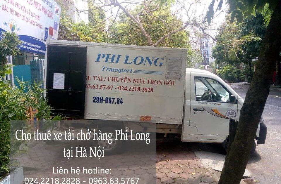Dịch vụ xe tải chuyển hàng tại phố Hàng Bún