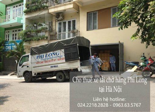 Dịch vụ xe tải vận chuyển tại phố Hàng Dầu