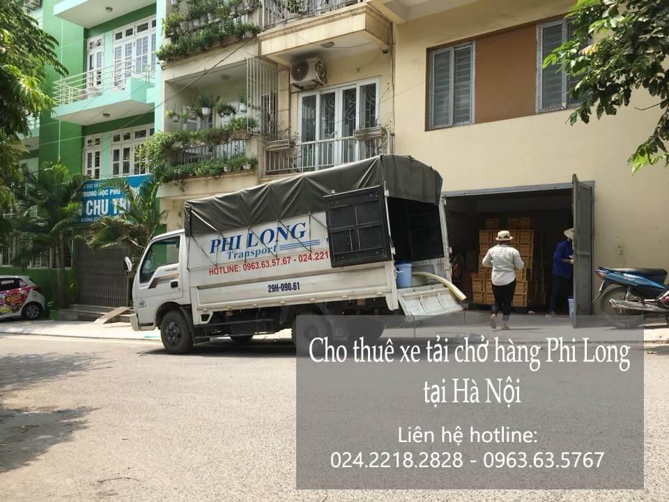 Dịch vụ xe tải chở hàng giá rẻ tại phố Hàng Thùng