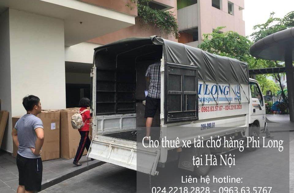 Dịch vụ xe tải giao hàng tại phố Cầu Bây