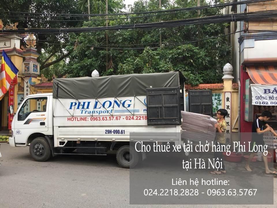 Dịch vụ xe tải vận chuyển đồ tại phố Văn Quán