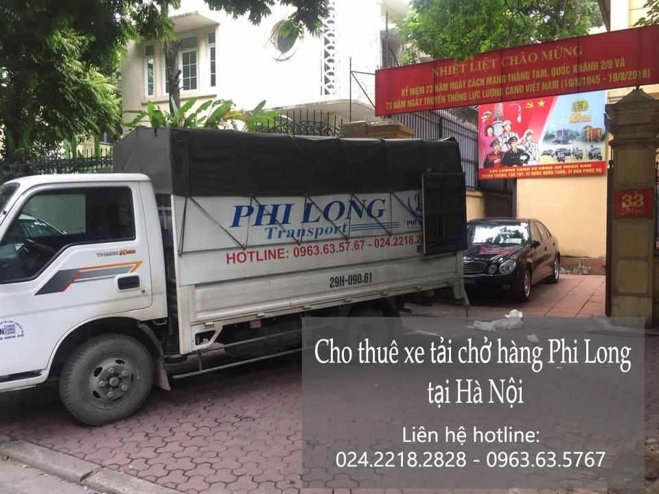Dịch vụ xe tải chở hàng tại phường Lĩnh Nam
