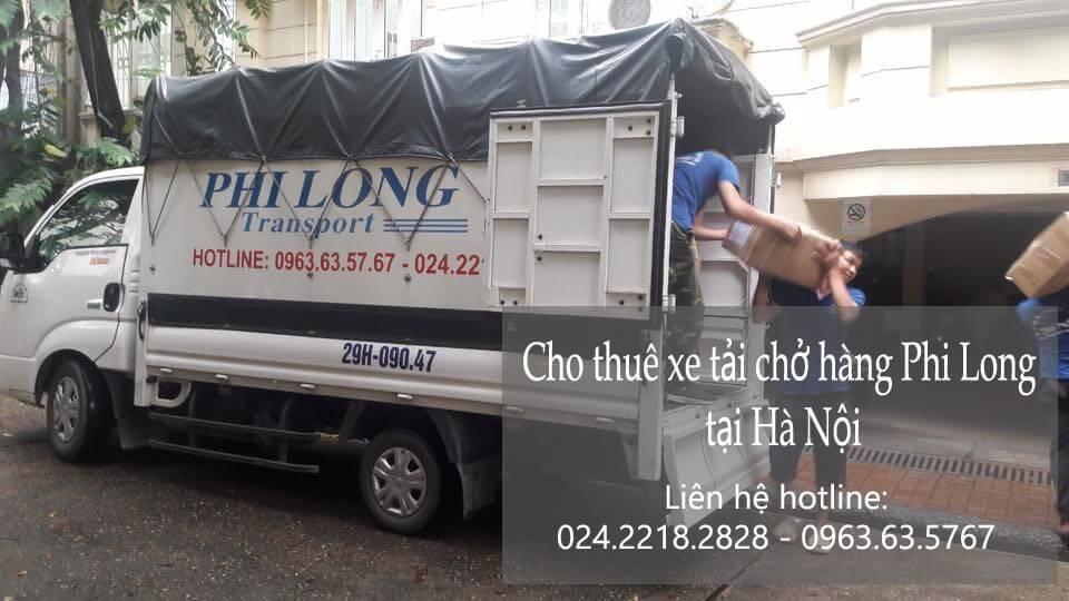 Dịch vụ xe tải chở hàng thuê tại phố Chu Huy Mân