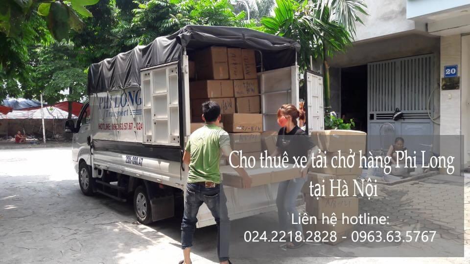 Dịch vụ xe tải chở hàng giá rẻ tại phố Cầu Bích