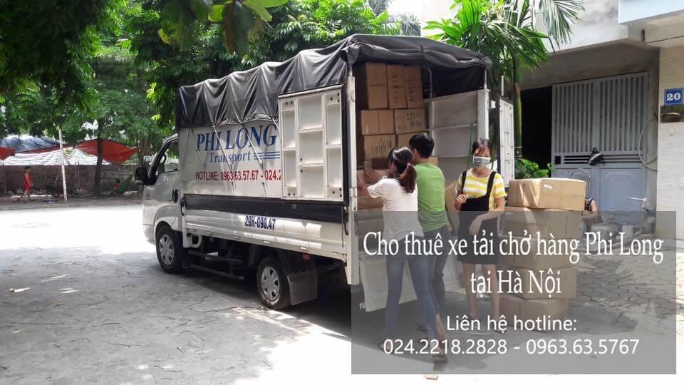 Dịch vụ xe tải giá rẻ tại phố Đông Các