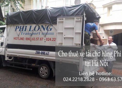 Dịch vụ xe tải chuyển nhà tại phố Hoàng Ngân