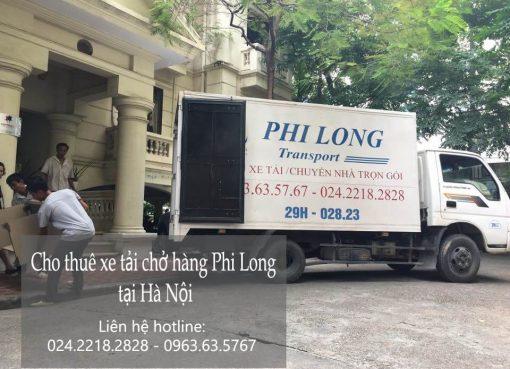 Dịch vụ xe tải chở hàng thuê tại phố Cầu Gỗ