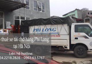 Dịch vụ cho thuê xe tải chở hàng thuê tại phố Hồng Hà