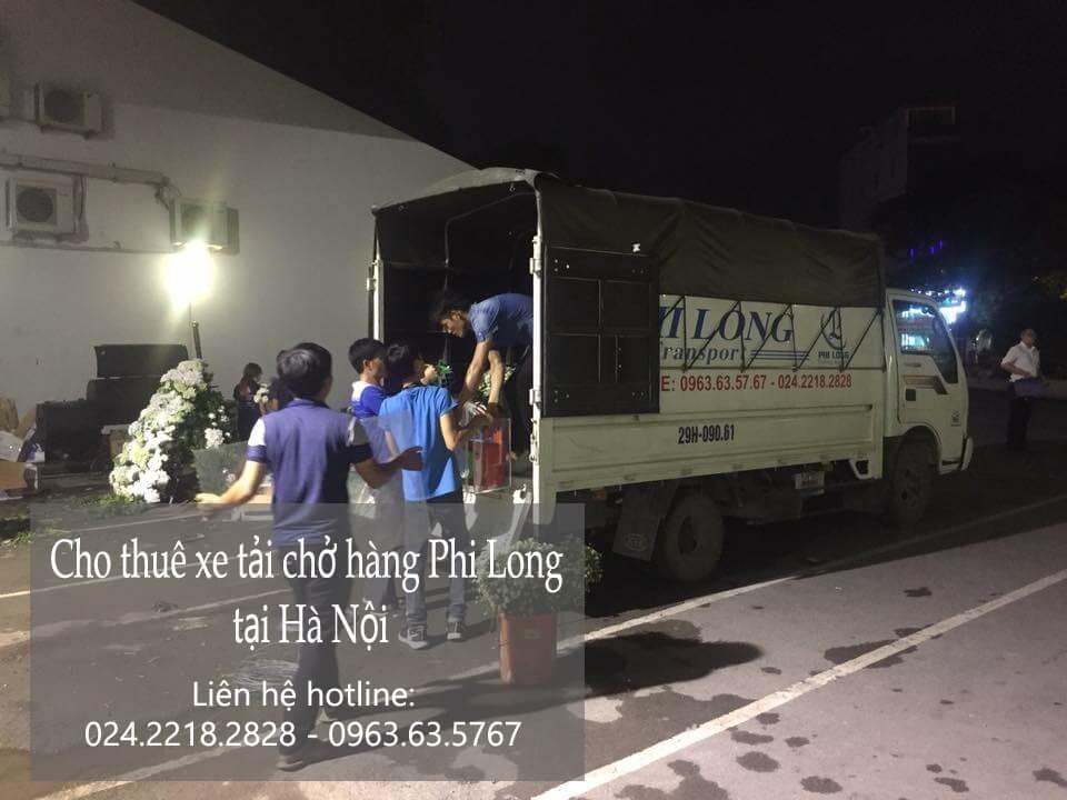 Dịch vụ xe tải chở hàng thuê tại phố Bà Triệu