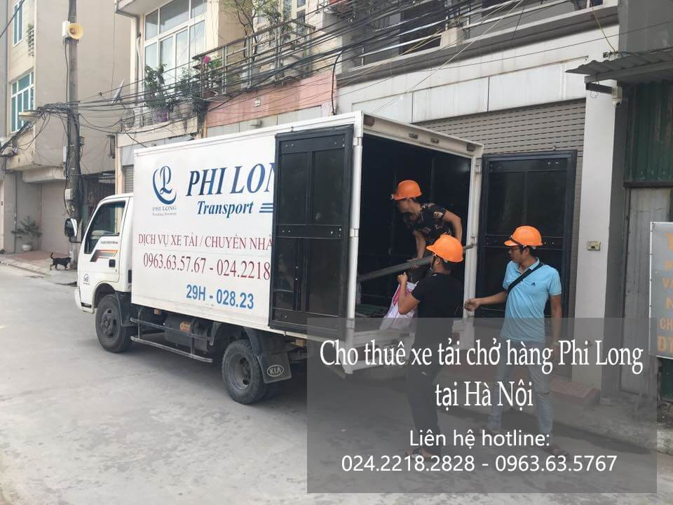 Dịch vụ cho thuê xe tải tại phố Đốc Ngữ