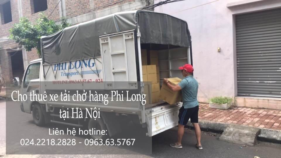 Dịch vụ xe tải giá rẻ tại phố Lạc Chính