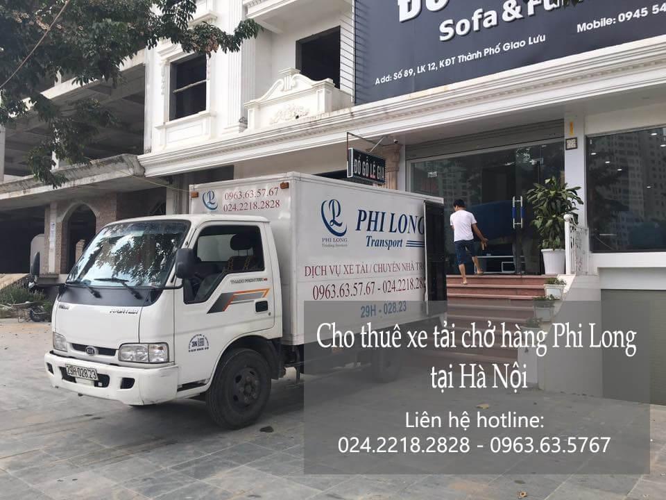 Dịch vụ xe tải chở hàng thuê tại phố Lê Hồng Phong