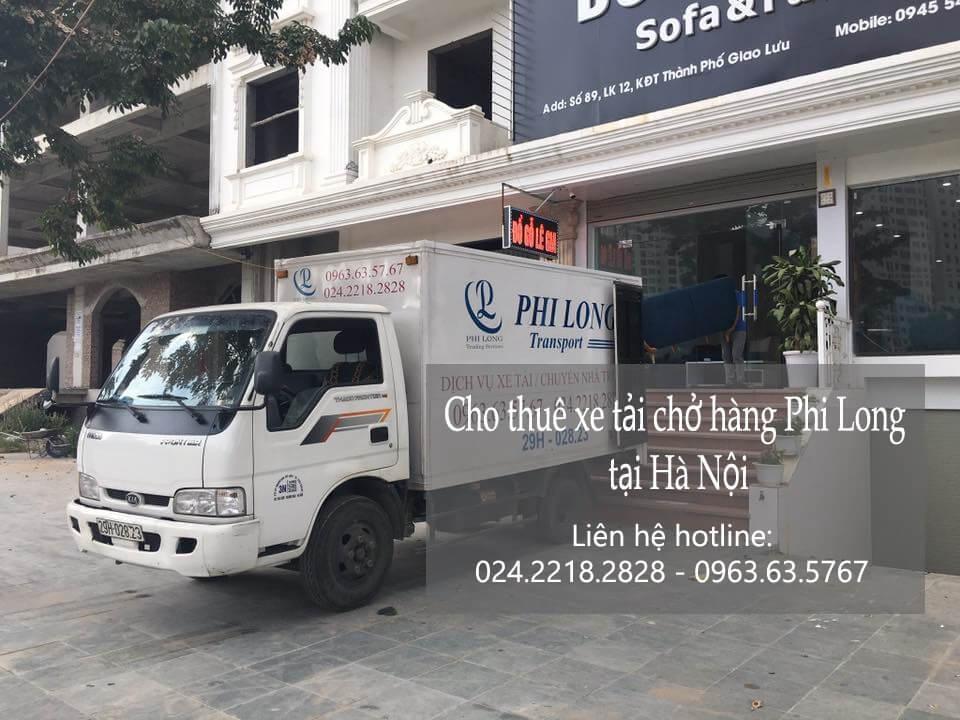 Dịch vụ xe tải giá rẻ tại phố Liễu Giai