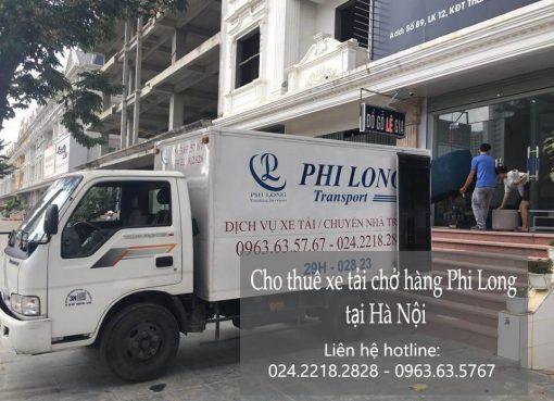 Dịch vụ xe tải tại phố Đỗ Quang