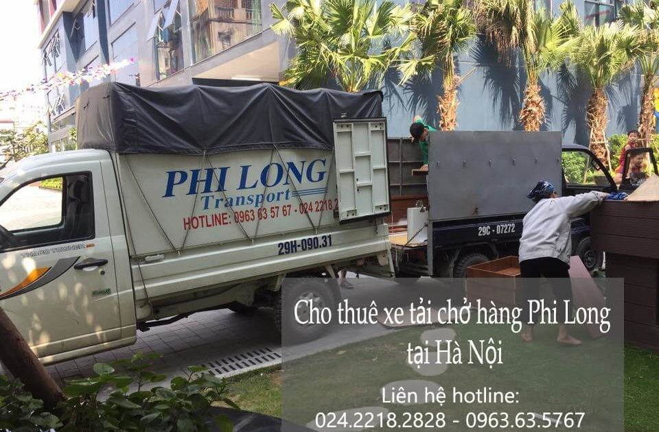 Dịch vụ xe tải giá rẻ tại phố Hồng Mai