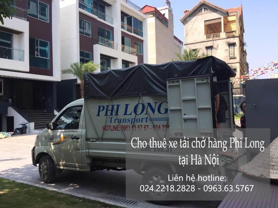 Dịch vụ xe tải chở hàng thuê tại phố Hoa Lâm
