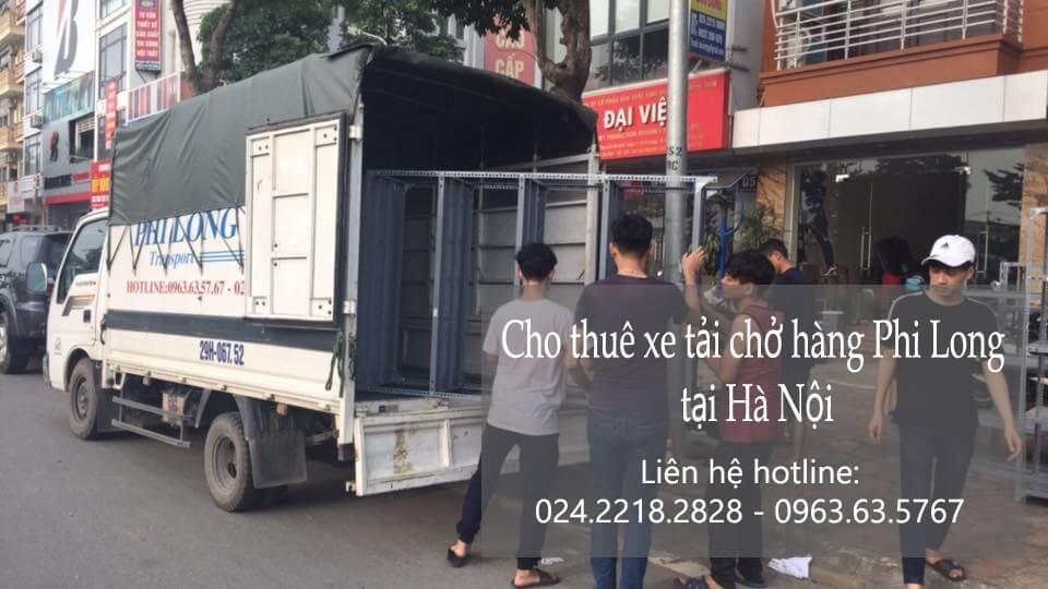 Dịch vụ xe tải giá rẻ tại phố Vũ Tông Phan