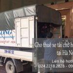 Dịch vụ xe tải chở hàng thuê tại phố Chả Cá
