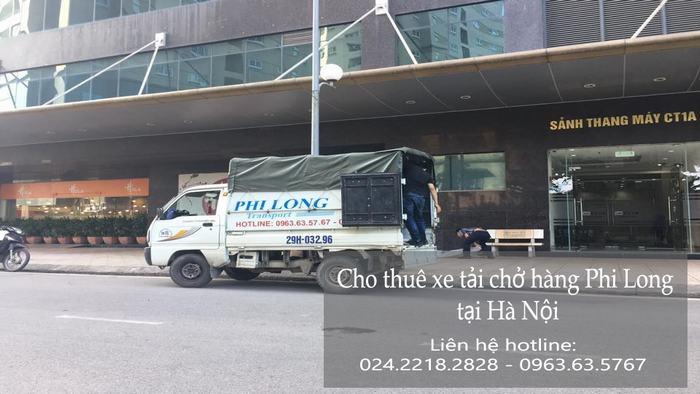 Dịch vụ xe tải tại phố An Xá