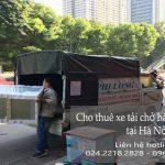 Dịch vụ xe tải giá rẻ tại phố Đình Ngang