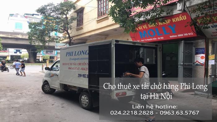 Dịch vụ xe tải tại phố Chợ Gạo