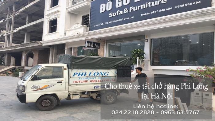 Dịch vụ xe tải tại phố Đoàn Thị Điểm