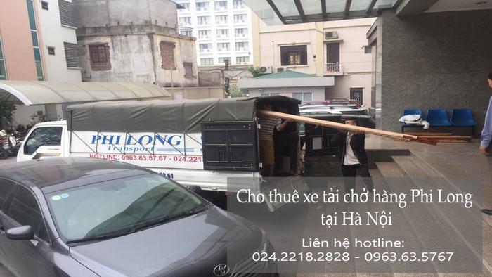 Dịch vụ xe tải tại phố Tư Đình