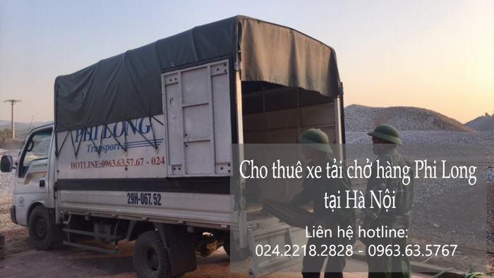 Dịch vụ xe tải chuyển nhà tại phố Hoa Lâm