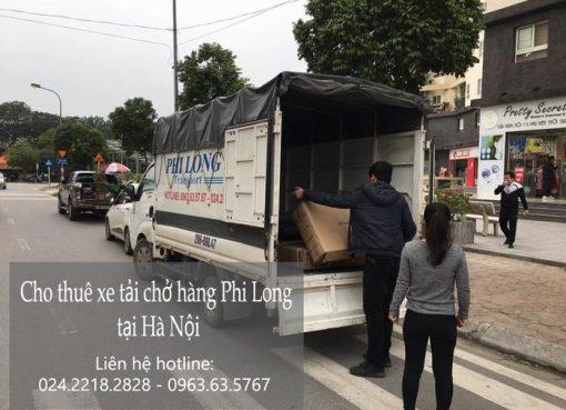Dịch vụ xe tải tại phố Đinh Lễ