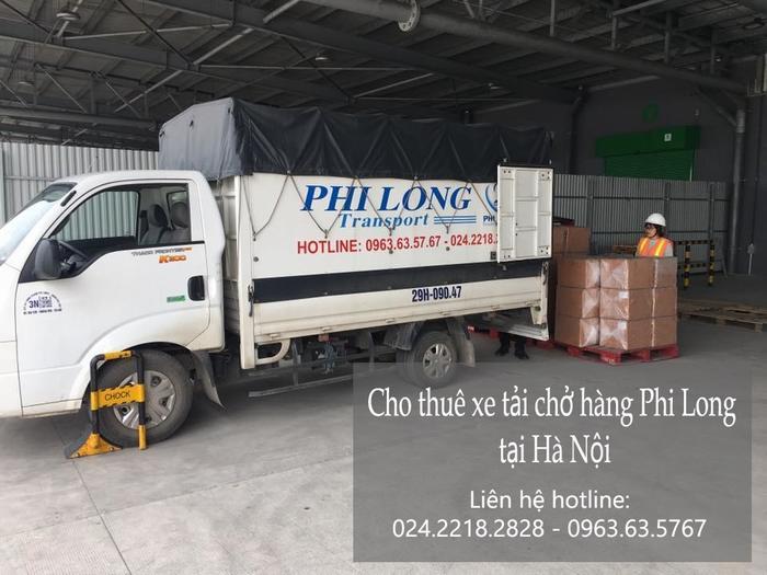 Dịch vụ xe tải chở hàng thuê tại phố Hoàng Hoa Thám
