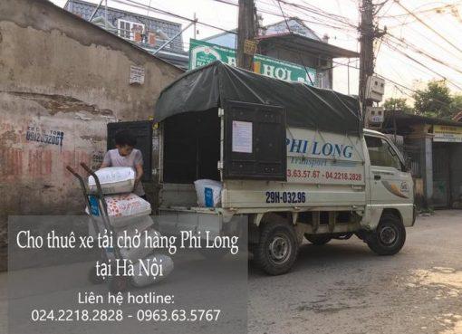 Dịch vụ xe tải tại phố Hàng Khay
