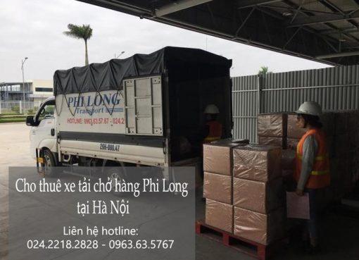 Dịch vụ xe tải tại phố Hàng Da