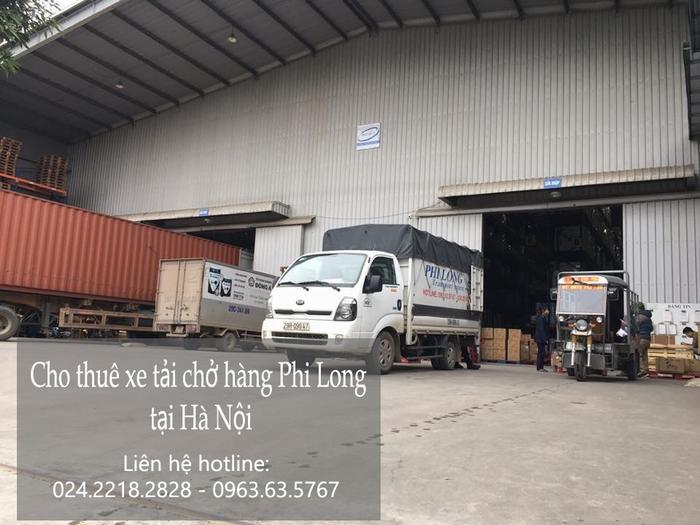 Dịch vụ xe tải chở hàng thuê tại phố Hoàng Diệu