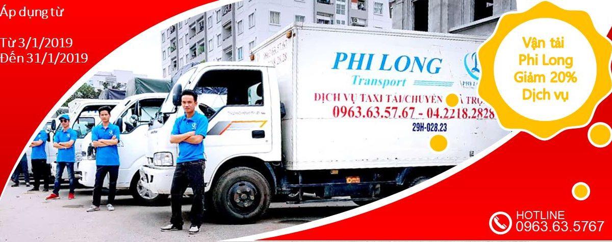 dịch vụ xe tải tại phố Nam Tràng