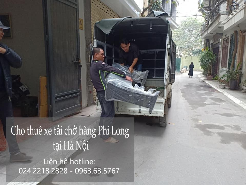Dịch vụ xe tải tại phố An Xá 2019