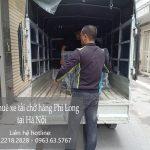 Dịch vụ xe tải tại phố Hồng Hà