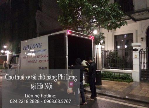 Dịch vụ xe tải tại phố Nguyễn Mậu Tài