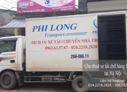 Dịch vụ xe tải chở hàng thuê tại phố Quỳnh Mai