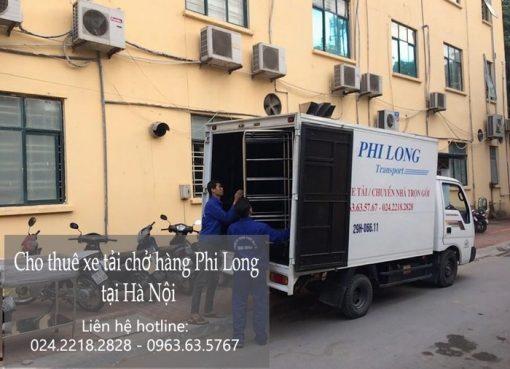 Dịch vụ xe tải tại phố Đào Văn Tập