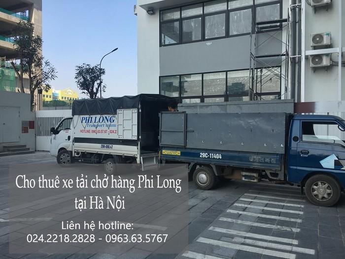 Dịch vụ xe tải tại phố Quỳnh Lôi